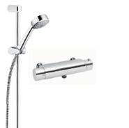 duschset och termostatblandare från Duschbyggarna